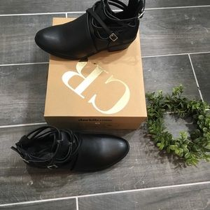Charlotte Russe strappy booties